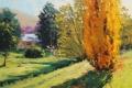 Картинка рисунок, арт, Australia, artsaus, Autumn in carcor