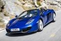 Картинка синий, автомобиль, Spyder, макларен, McLaren MP4-12C, мп4-12ц