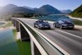 Картинка машины, пейзажи, вид, дороги, скорость, Porsche, тачки