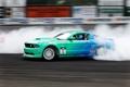 Картинка машина, авто, обои, гонка, дым, скорость, трасса
