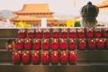 Картинка огонь, храм, свечки