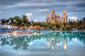 Картинка Bahamas, бассейн, Atlantis hotel, Багамские Острова, Нассау, Nassau, пальмы
