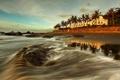 Картинка море, лето, пейзаж, берег