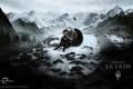 Картинка viking, mount, тень, викинг, davakin, skyrim, shadow