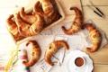 Картинка рогалики, газета, кунжут, bagel, Tea, bakery, выпечка