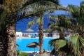 Картинка бассейн, курорт, Греция, Kamari, пальмы, море