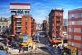 Картинка нью-йорк, сша, nyc, Chinatown, Dumpling Alley, ney york, Eldridge Street