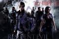 Картинка оружие, дым, команда, Leon, Resident Evil 6, Leon Scott Kennedy, Helena Harper