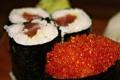 Картинка икра, вкусно, суши