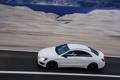 Картинка Дорога, Белый, AMG, CLA45, Седан, Машина, Mercedes-Benz