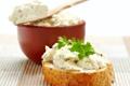 Картинка зелень, хлеб, сыр