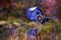 Картинка осень, пейзаж, река