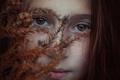 Картинка осень, веснушки, кареглазая, Brookie