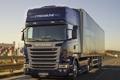 Картинка дорога, грузовик, Scania, 4x2, Streamline, Topline Cab, R490