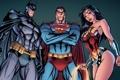 Картинка batman, superman, dark knight, wonder woman