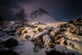 Картинка зима, снег, гора