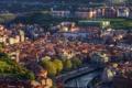 Картинка фото, дома, Город, Испания, Bilbao