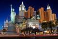 Картинка night, street, hotel, vegas, casino