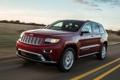 Картинка красный, Джип, передок, Jeep, Grand Cherokee, Гранд Чероке, Summit