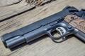Картинка пистолет, оружие, 1911, Nighthawk Custom