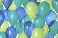 Картинка шарики, мишура, резина