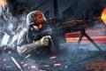 Картинка оружие, пулемет, патроны, Battlefield 3, Поле Битвы 3