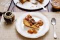 Картинка пирог, орехи, пекан, мате, калебас