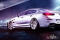 Картинка BMW, 6 Series, блики, обвес, ночь, порт, white