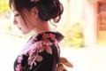 Картинка азиатка, кимоно, лицо, одежда, стиль