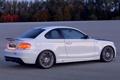 Картинка Вечер, Авто, Белый, BMW, Тюнинг, Бумер, 1 series