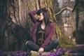 Картинка фотограф, девушка, photographer, Florian Seelmann, дерево, girl, photography
