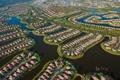 Картинка вода, город, дом, панорама, USA, США, коттедж