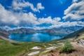 Картинка горы, природа, отражение, панорама озеро