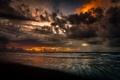 Картинка тучи, рассвет, Texas, Техас, San Jacinto, Galveston, дляж