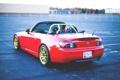 Картинка red, кабриолет, honda, хонда, s2000