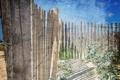 Картинка фон, небо, забор, стиль