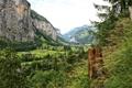 Картинка пейзаж, горы, природа, фото, Швейцария, Lauterbrunnen