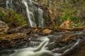 Картинка скалы, поток, Виктория, Австралия, водопад Маккензи