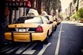 Картинка город, такси, USA, америка, сша, New York City, нью йорк