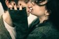 Картинка макро, поцелуй, пара, Victoria Berngard