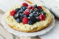 Картинка ягоды, малина, черника, пирог, ежевика, тарт