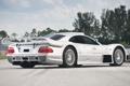 Картинка Мерседес, серебристый, небо, GTR, Road Version, AMG, суперкар