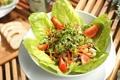 Картинка листья, овощи, помидоры, салат, чери