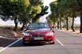 Картинка Красный, Авто, Дорога, BMW, Асфальт, БМВ, Капот