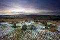 Картинка поле, пейзаж, камни, England, Sticklepath