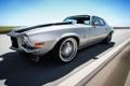 Картинка шевролет, Chevrolet Camaro, muscle car, в движении