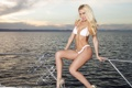 Картинка море, купальник, блондинка, Jennifer Vaughn