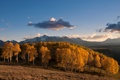 Картинка sunset, autumn, mountain, fall