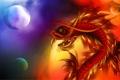 Картинка чешуя, дракон, клыки, шары