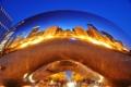 Картинка Чикаго, Chicago, монумент, millennium park, Spaceship Earth, Миллениум парк